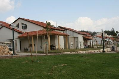 שכונת ההרחבה בקיבוץ עין-חרוד איחוד